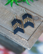 Go Your Own Way Earrings-Southern Grace Wholesale-Black-Inspired Wings Fashion