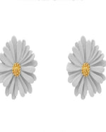 Warmth Flower Stud Earrings-Accessories-What's Hot Jewelry-Grey-Inspired Wings Fashion