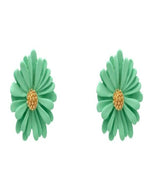 Warmth Flower Stud Earrings-Accessories-What's Hot Jewelry-Teal-Inspired Wings Fashion
