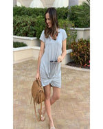 Favorite Knotted Dress-Dresses-Inspired Wings Fashion-Small-H. Grey-Inspired Wings Fashion