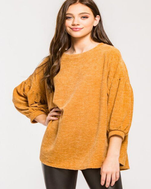 Heavenly Sweater-Sweaters-Inspired Wings Fashion-Small-Mustard-Inspired Wings Fashion