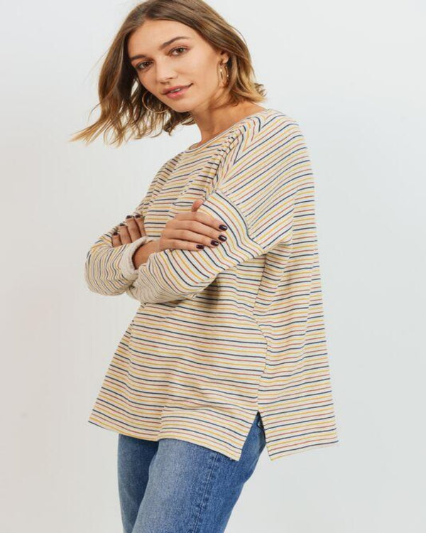 Everyone Loves Stripes Top