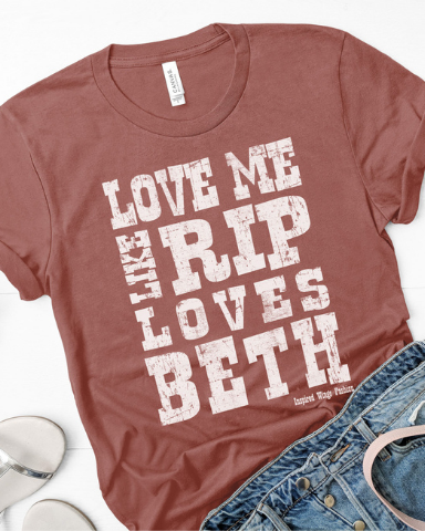 RIP loves Beth-Top-Spirit Star-Small-Inspired Wings Fashion
