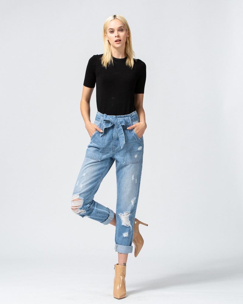 VT621-bottoms-Flying Monkey Jeans-Inspired Wings Fashion
