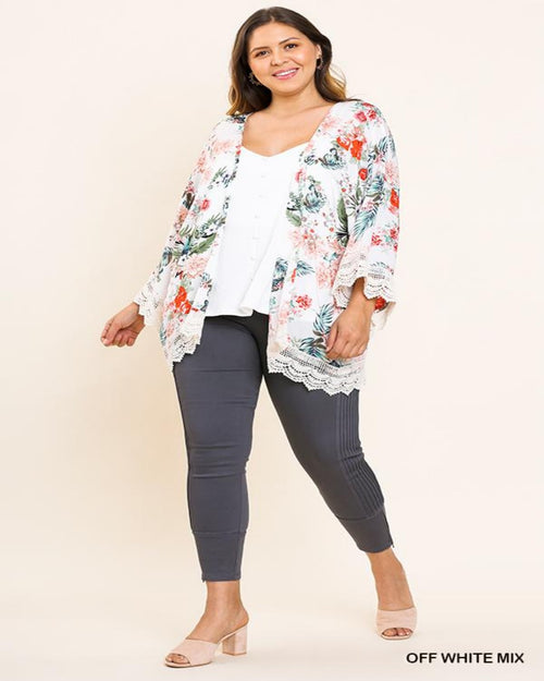 Tropical Kimono-PLUS-Plus Size-Inspired Wings Fashion-XL-Inspired Wings Fashion