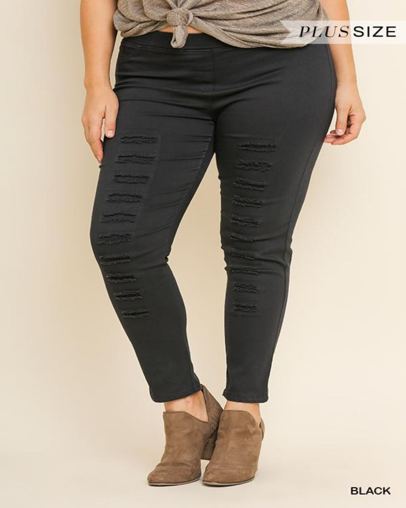 Favorite Jeggings-Plus Size-Inspired Wings Fashion-XL (11/13)-Black-Inspired Wings Fashion