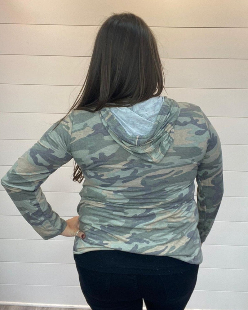 Camo Sequin Pocket Hoodie-Heimish-Small-Inspired Wings Fashion