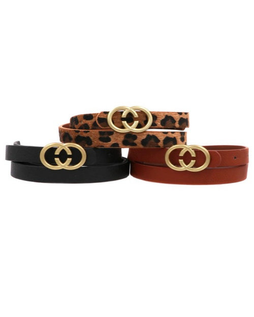 Faux Leather Belt-Accessories-ARTBOX-Leopard-Inspired Wings Fashion