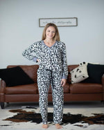 Comfy Pajama Set-O'baby boutique-Small-Leopard-Inspired Wings Fashion