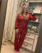 Comfy Pajama Set-O'baby boutique-Small-Red-Inspired Wings Fashion