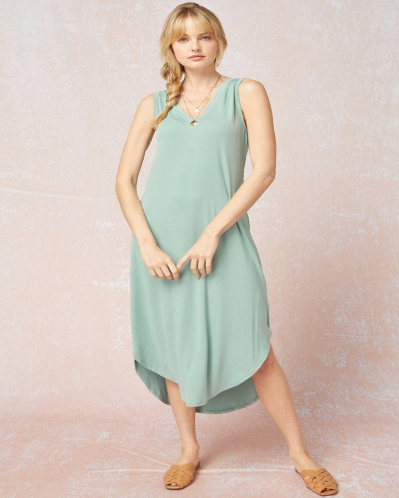 Classic Midi Dress-Entro-Small-Inspired Wings Fashion