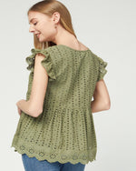 Crochet All Day Top-Tops-Entro-Small-Olive-Inspired Wings Fashion