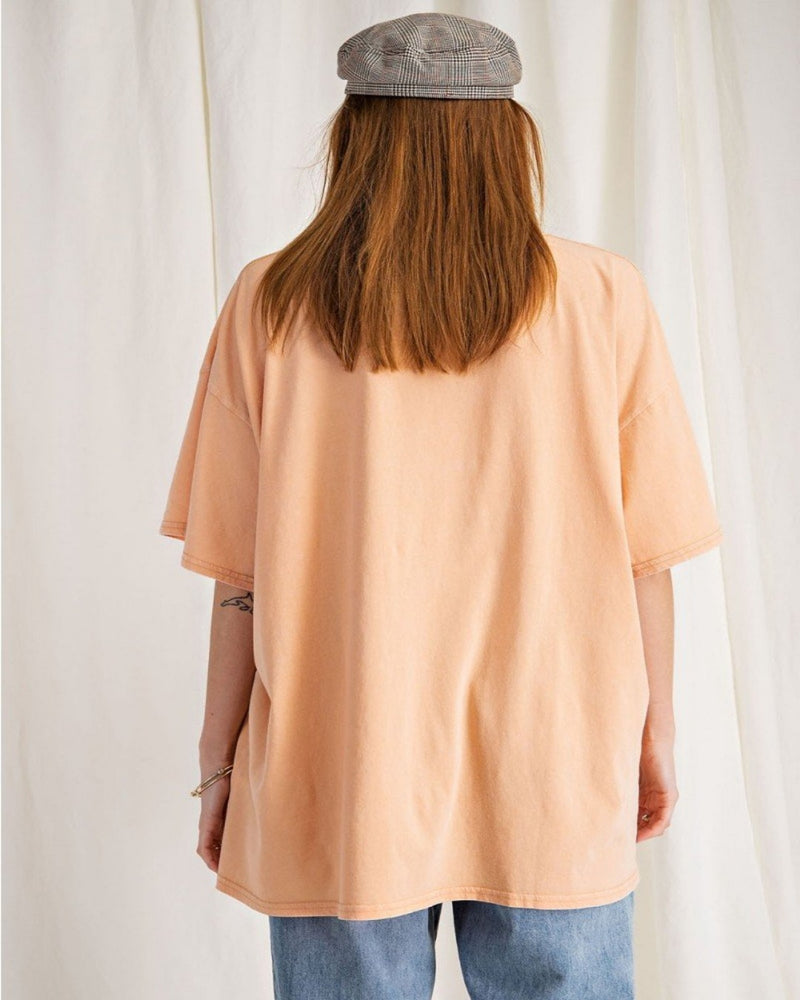 Be Alright Boxy Top-Tops-Easel-Small-Cantaloupe-Inspired Wings Fashion