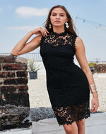 Effortless In Lace Midi Dress-Dresses-Main Strip-Small-Black-Inspired Wings Fashion