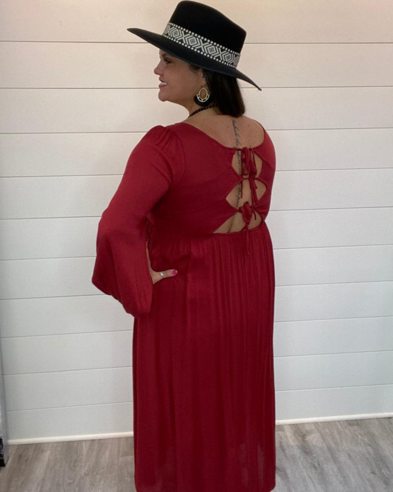 Put On Your Maxi Dress-Dresses-LLove-Small-Burgundy-Inspired Wings Fashion