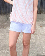 White Distressed Shorts-bottoms-Judy Blue-Small-Inspired Wings Fashion