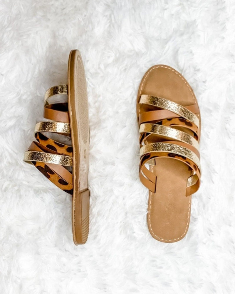 Beautiful Sole Slide Sandal-Shoes-Let's See Style-5.5-Inspired Wings Fashion