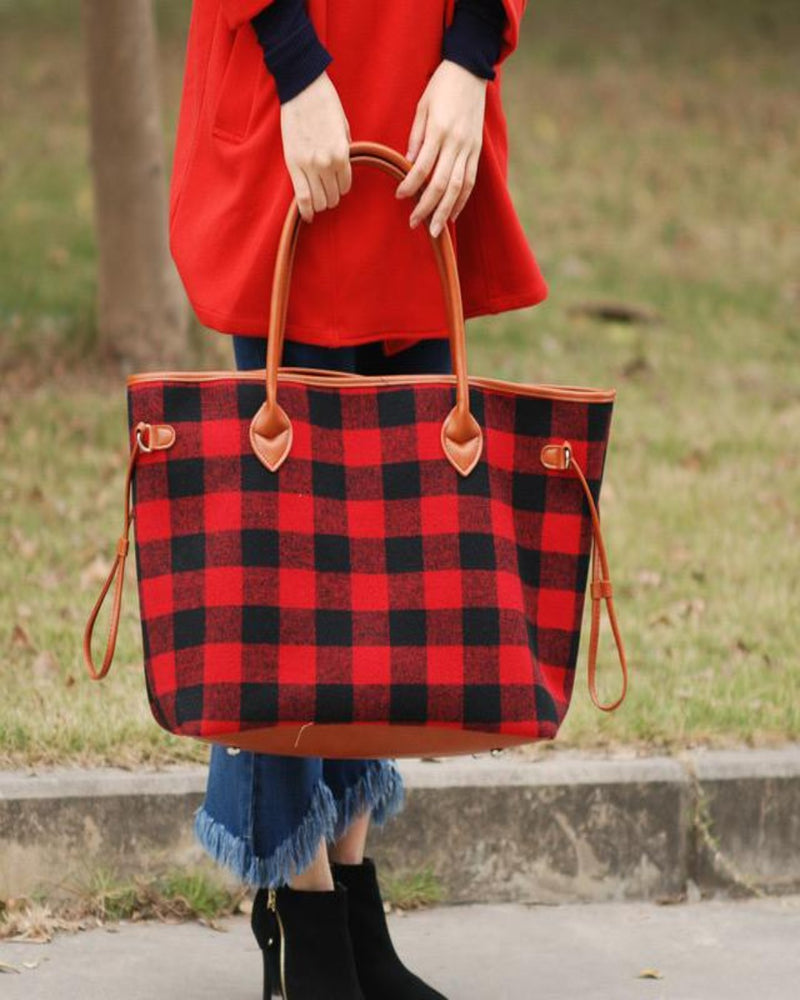 On The Go Tote-Bag and Purses-Alibaba-Cowhide-Inspired Wings Fashion