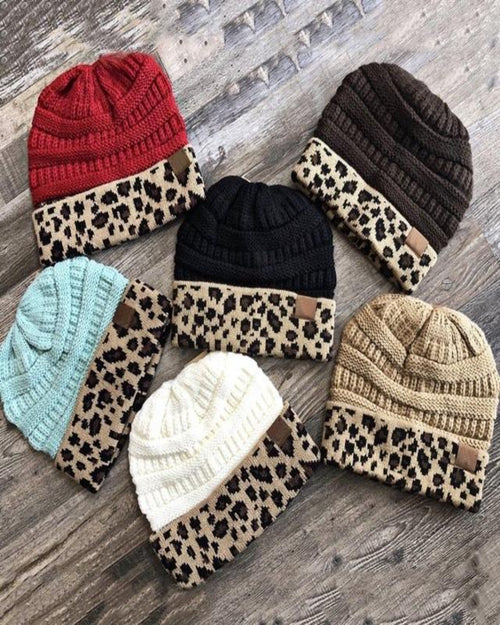 Leopard Beanie-hat-Alibaba-Red-Inspired Wings Fashion