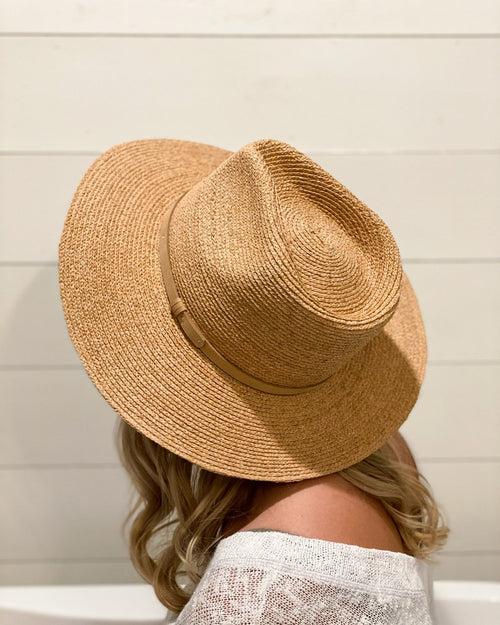 Devin Flat Brim Hat-hat-Olive & Pique-Inspired Wings Fashion