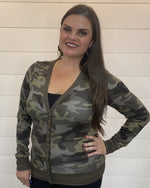 Camo Button Cardi-Cardigans-Zenana-Small-Inspired Wings Fashion