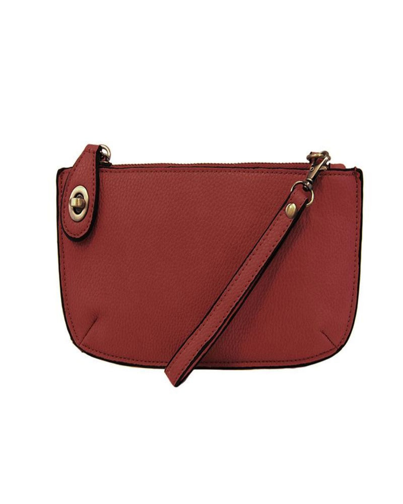 Mini Crossbody Wristlet Clutch-Bag and Purses-Joy Susan-Garnet-Inspired Wings Fashion