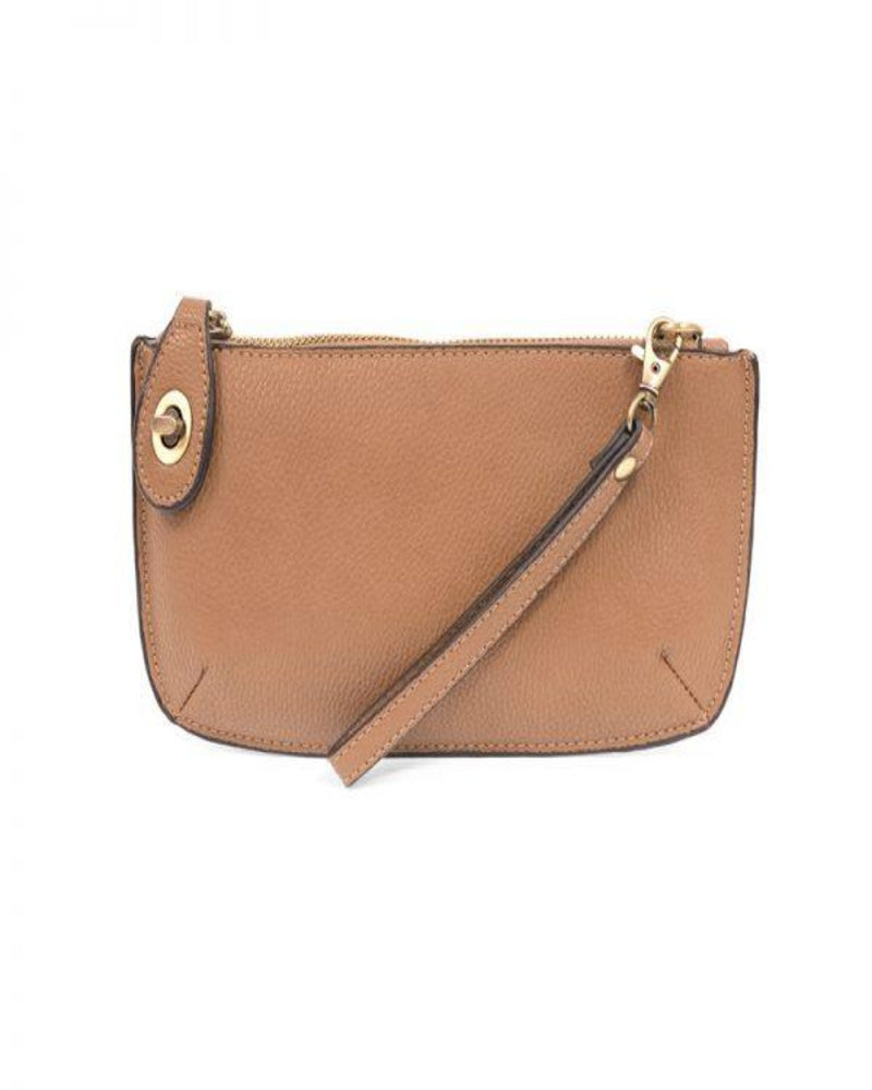 Mini Crossbody Wristlet Clutch-Bag and Purses-Joy Susan-Camel-Inspired Wings Fashion