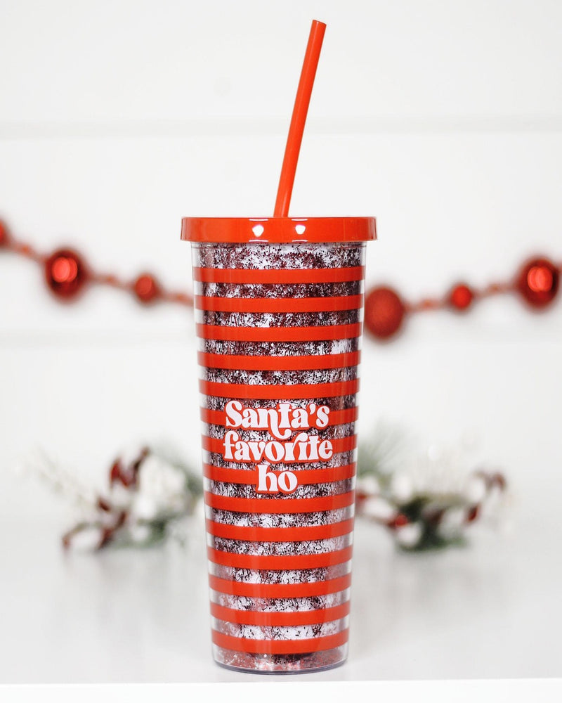 Santa's Favorite Tumbler-Home-Mugsby Wholesale-Inspired Wings Fashion