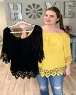 There Goes My Top-Plus Size-Davi & Dani-1XL-Black-Inspired Wings Fashion