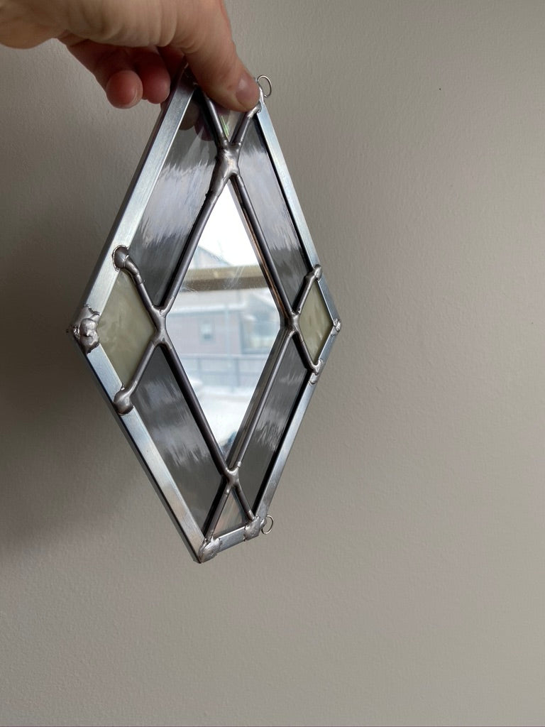 Nouveau Diamond Mirror