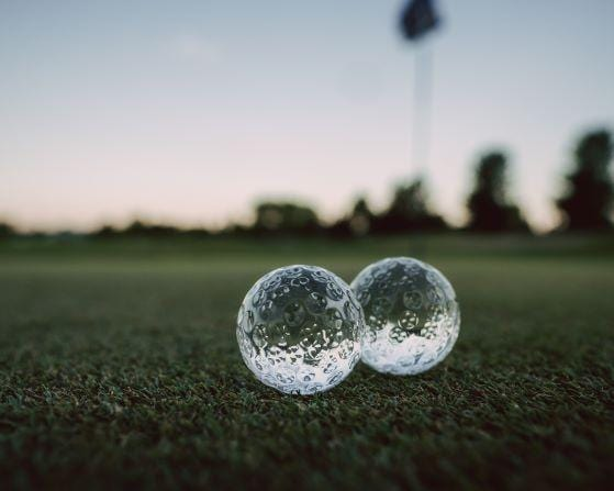 Golf Ball Whiskey Chillers - Gemsho Glass