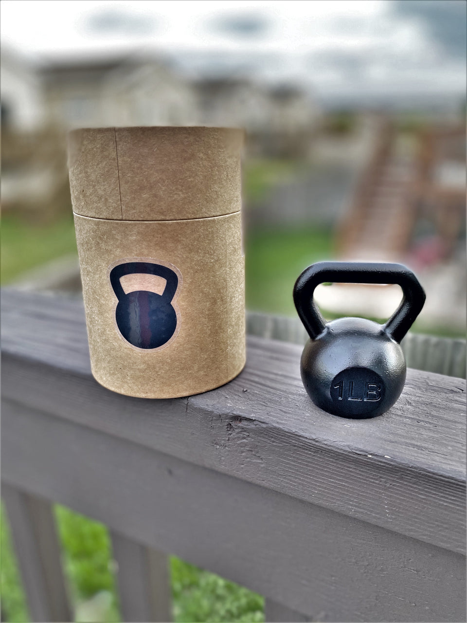 Kettlebell Bottle Opener, 1lb | Crossfit and weightlifting beer gifts for men and women | Gifts for dad who has everything - Gemsho Glass