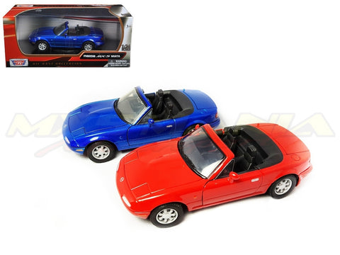 1/24 Scale Die-Cast Model Red/Blue (NA 1989-1997)