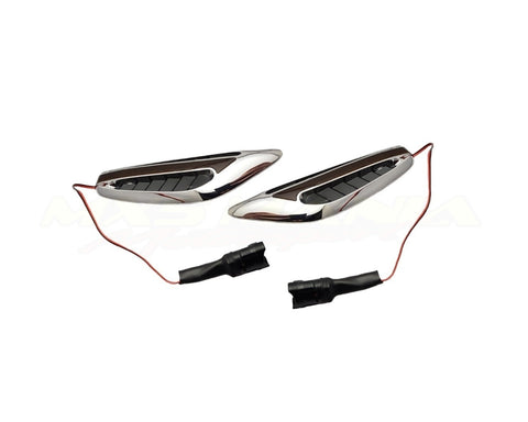 Chrome/Black and Black LED Side Indicators - Jass Performance (NA/NB/NC 1989-2014)