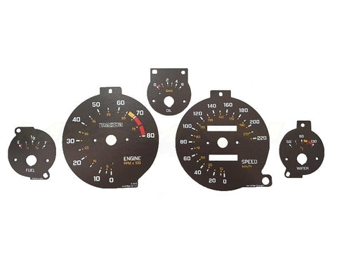 'JNC' Gauges by RevLimiter - Gauge Cluster Kit (NA/NB 1989-2004)