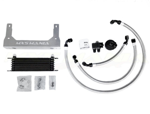 Engine Oil Cooler with Remote Mount Oil Filter Relocation Kit (NB 1998-2004)