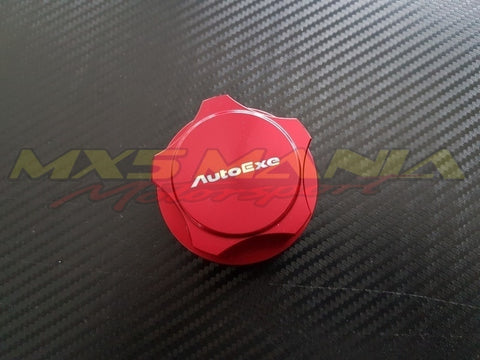Autoexe Red Engine Oil Cap  (NA/NB 1989-2004)