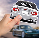 MX5 NB Decal Sticker - 4 inch (Various Colours)