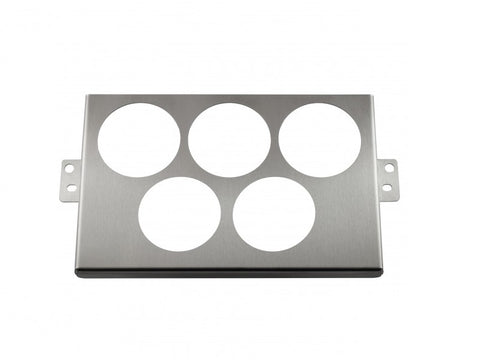 2 DIN Control Panel With 5X52MM Gauge Cut Outs (NB 1998-2004)