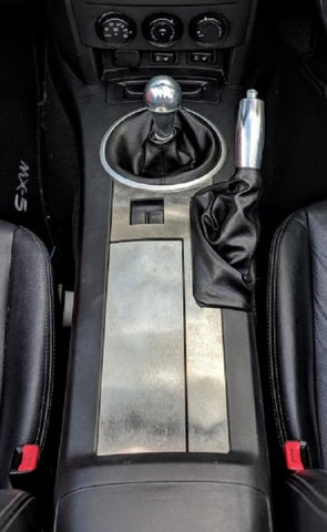 Stainless Steel Armrest Cover - Jass Performance (NC 2005 - 2014))