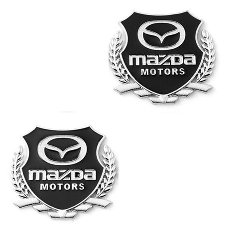 3D Mazda Motors Shield Badge Sticker
