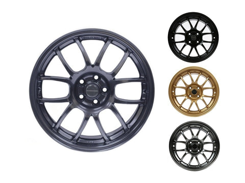 949 Racing 6UL Wheel - 15x7 - 4x100 - ET36 - 4.85KG [ Beryllium | Charcoal | Tungsten | Bronze ]
