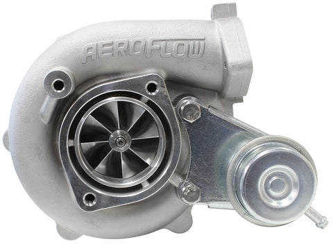 BOOSTED 5428 NISSAN .64 Turbocharger 525HP, Natural Cast Finish, T25 / T28