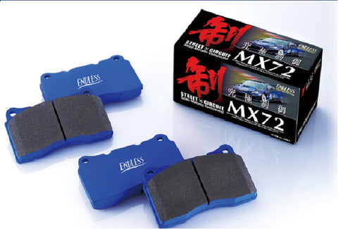 Endless MX72 Racing Brake Pads - Front/Rear (NC/ND 2005-2019)