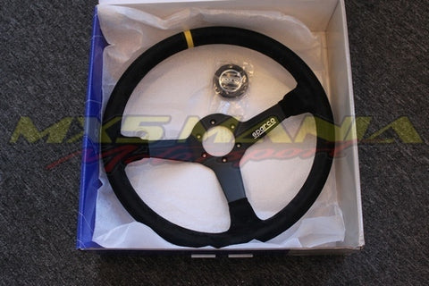 Sparco R368 Wheel (Suede Racing)