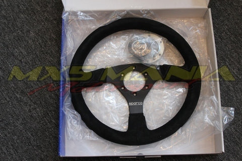 Sparco R323 Wheel (Suede Racing)