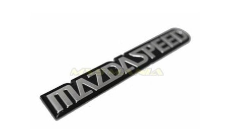 Mazdaspeed Logo BADGE Adhesive Back