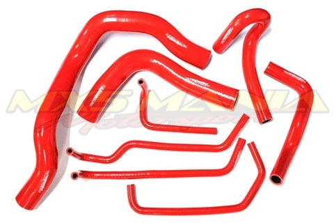 NB8A Hose Kit (Silicone) RED Full 8pc Set (NB8A 1998-2000)