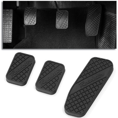 Non-Slip Roadster Rubber Pedal Pads - Pedal Set (NA/NB 1989-2004)