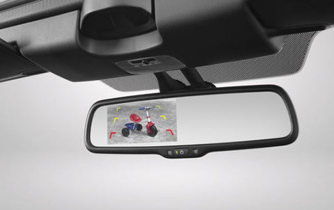 Rear View Mirror Integrated Reverse Parking Camera Kit (ND 2015)